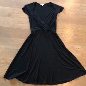 Shoshanna black cocktail dress size 8